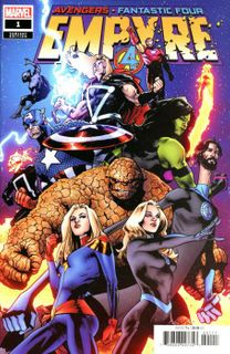 Empyre #1 Cheung Premiere Variant Marvel 1st Print unread NM 2020