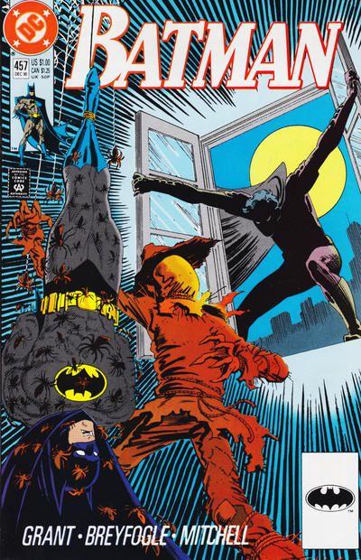 VF+ DC Comics Batman #458 1990 VF