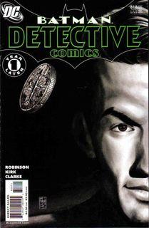 Free Domestic Shipping DC 2006 Detective Comics #820