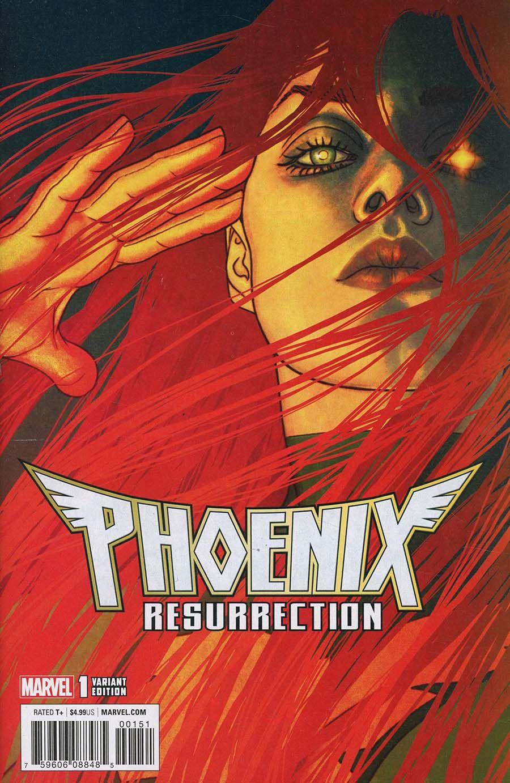 PHOENIX RESURRECTION RETURN JEAN GREY # 1 Trading Card Variant