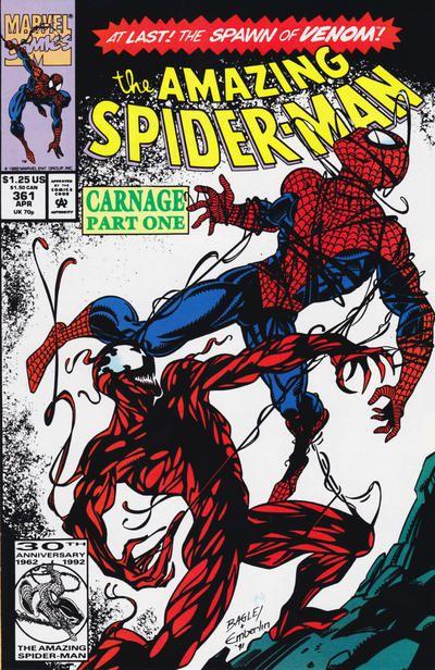 eyJidWNrZXQiOiJnb2NvbGxlY3QuaW1hZ2VzLnB1YiIsImtleSI6Ijc0ODhmMTJhLTgwZTktNDRmYS05YjgwLTBiNTYwODRjOTA5YS5qcGciLCJlZGl0cyI6W119 Carnage Collapse: What's up With Amazing Spider-Man #361?