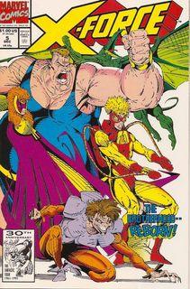 X-FORCE # 6 1992-9.2 COMIC